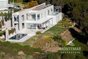 Sol de Mallorca - Villa moderna con vistas al mar
