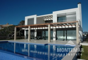 Villa moderna de lujo en Portocolom