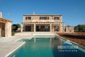 Mallorca Finca nueva cerca de Santanyi con