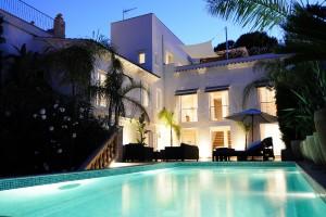 Maravillosa Villa con vistas al mar en El Terreno