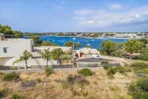 Nueva construcción moderna con vista al mar y al puerto de Porto Petro