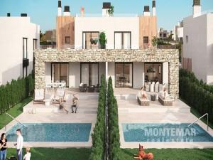 Moderna casa adosada en venta en Sa Rapita