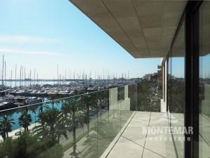 Palma/Paseo Marítimo - Hermoso apartamento con accesorios de alta calidad y vistas al puerto