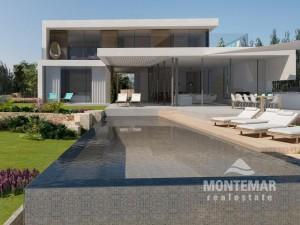 Villa de nueva construcción en primera línea de mar en Cala d'Or