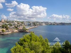 Palma/Cas Catala - Apartamento con vista panorámica al mar
