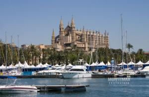Palma/Paseo Marítimo - Apartamento con vistas panorámicas al mar y a la catedral