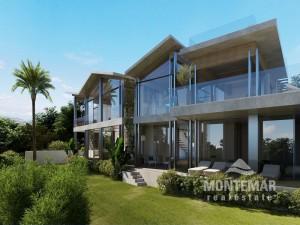 Santa Ponsa - Imponente promoción de villas con vistas al mar
