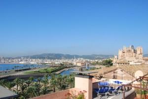 Palma - Ático de lujo con vistas a la catedral y al mar a la venta