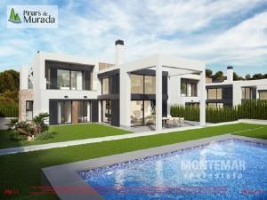Villas de nueva construcción a pocos metros de la playa de Cala Murada