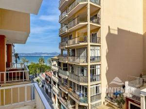 Palma/El Arenal - Apartamento en ubicación TOP con vista lateral al mar