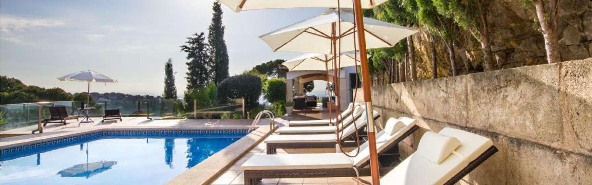 Bendinat - villa de lujo con vistas a la bahía de Palma