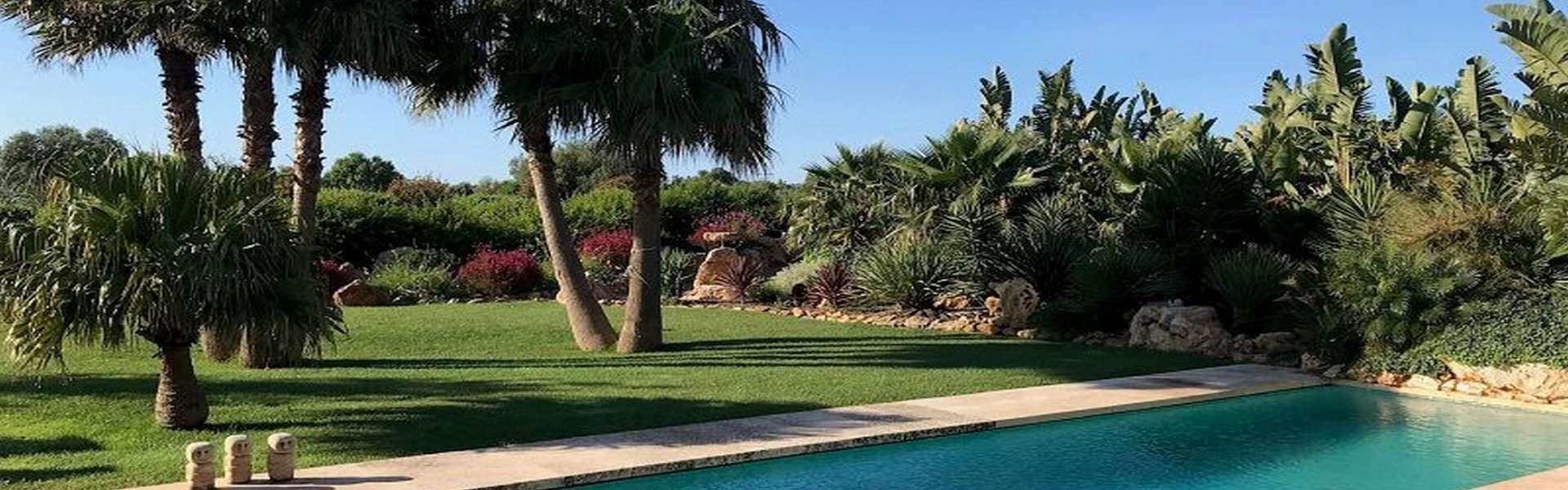 Amplia casa de campo cerca de Ses Salines con un gran jardín