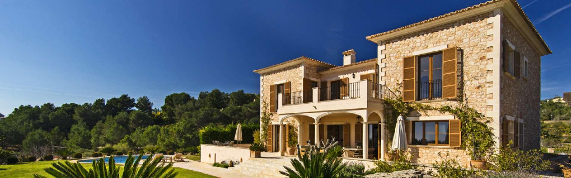 Portocolom - Finca con bonitas vistas en Vall d'Or