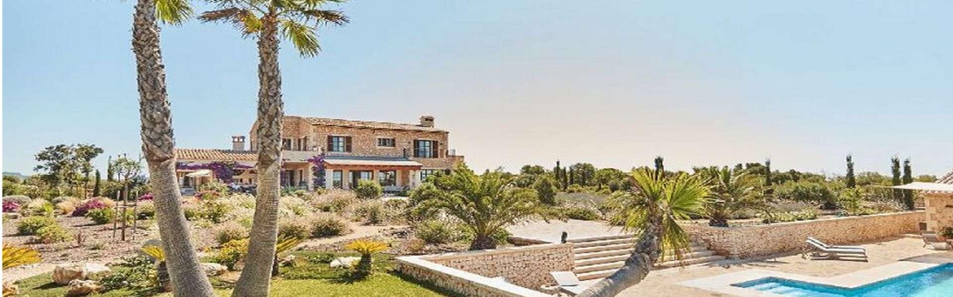 Proyecto de finca con bonitas vistas entre Santanyi y Campos
