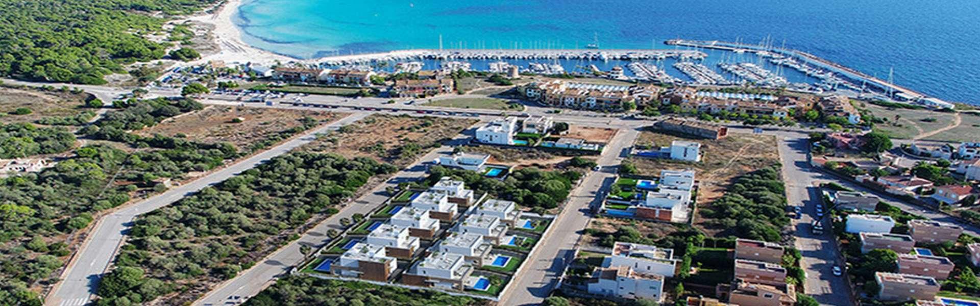 Villas de lujo cerca de la playa - Sa Ràpita