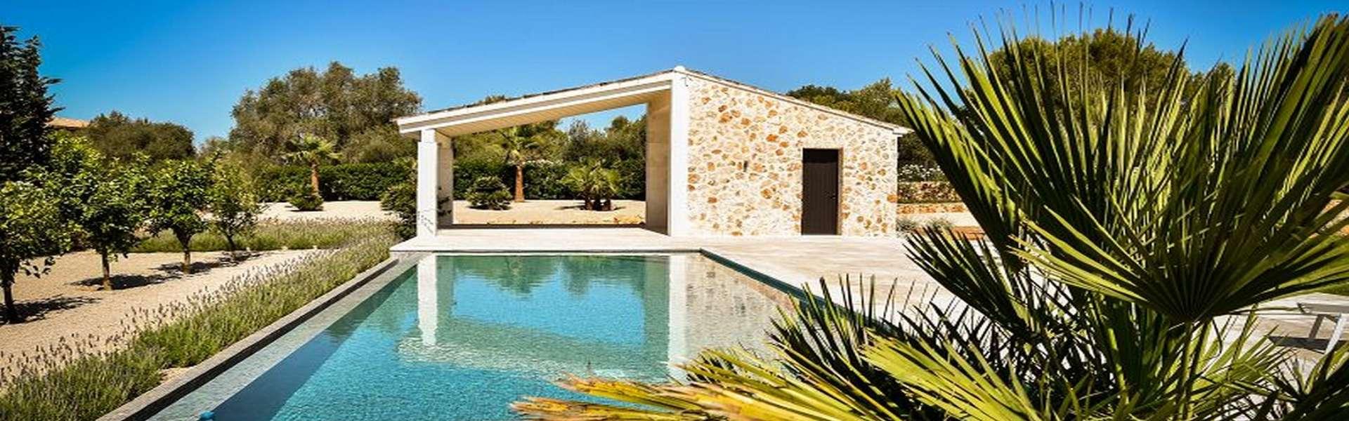 Ses Salines - Finca moderna con fantástica vista a la isla de Cabrera