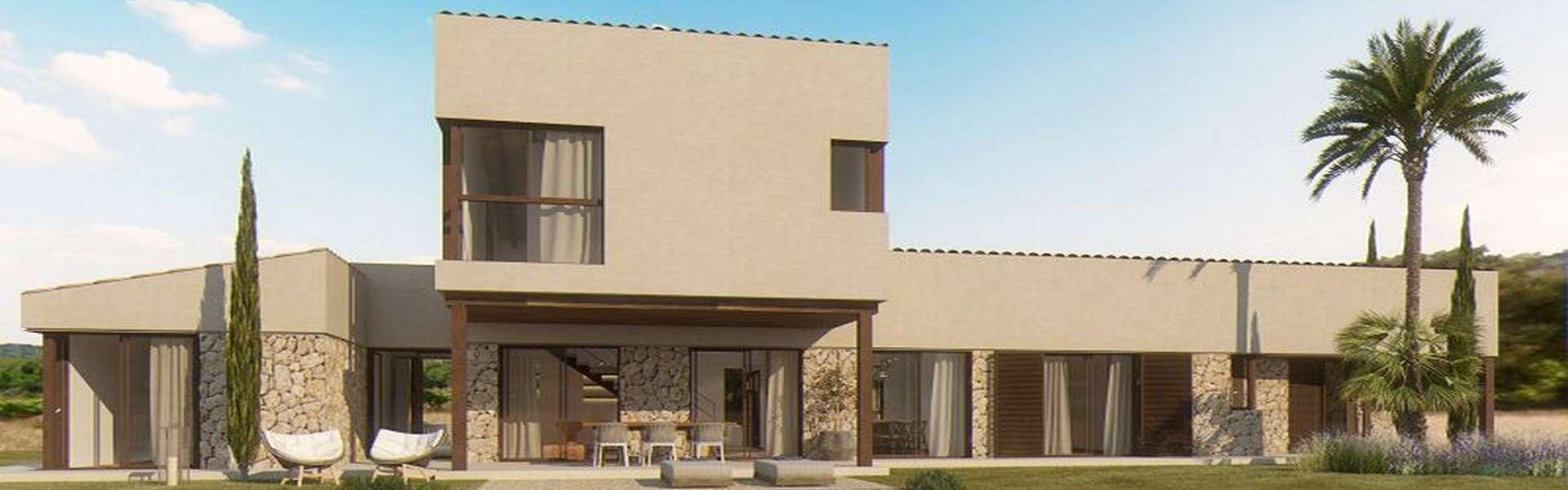 Un bonito proyecto de nueva construcción cerca de Es Trenc en venta