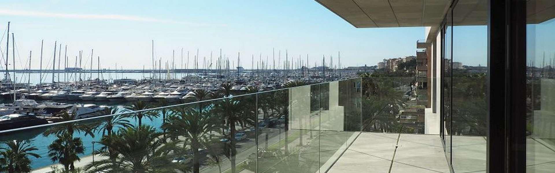 Palma/Paseo Marítimo - Bonito apartamento con vistas espectaculares