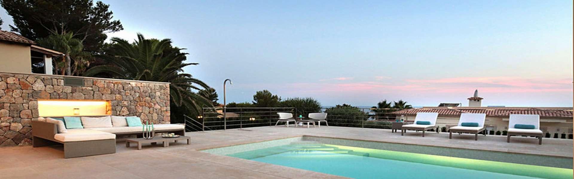 Santa Ponsa/Nova Santa Ponsa - Elegante villa con vista al mar en una ubicación privilegiada