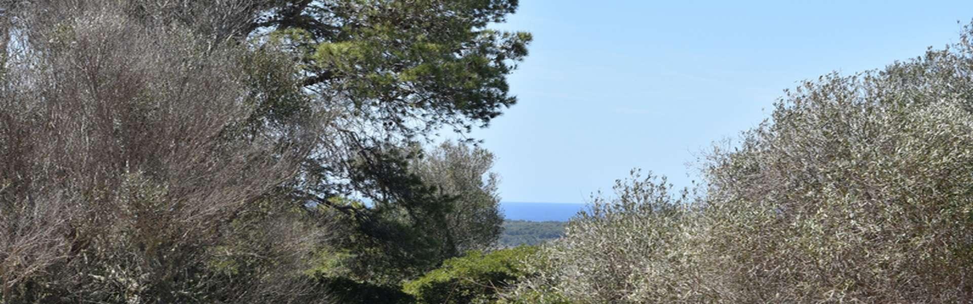 Santanyí - Finca de nueva construcción con vistas al mar