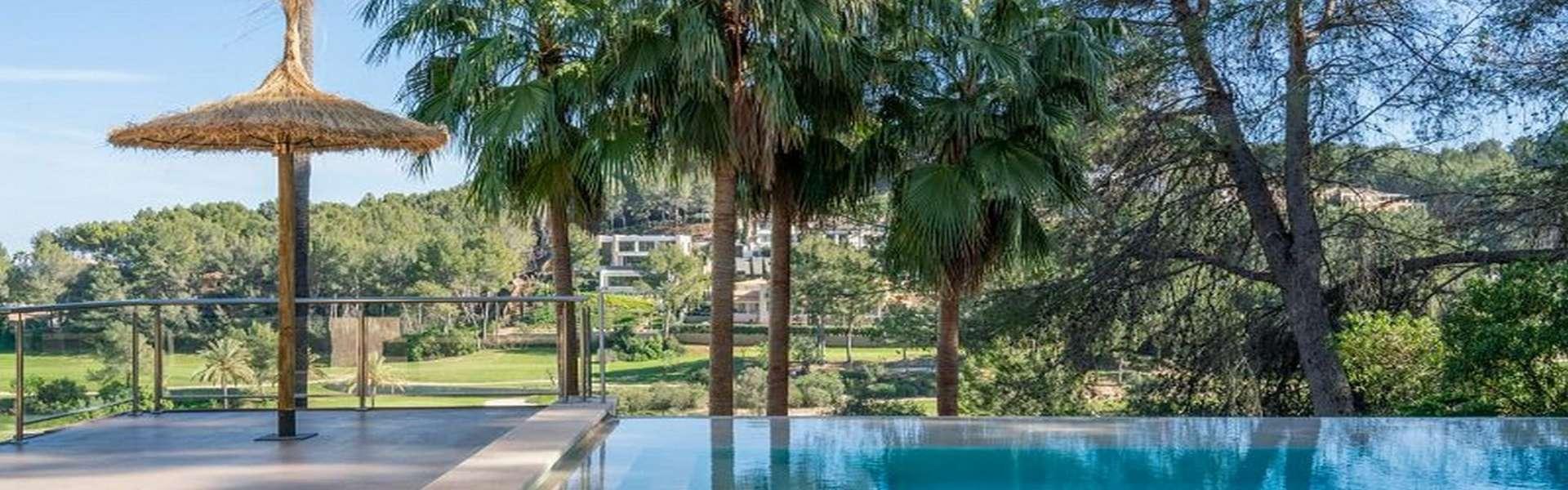 Palma/Son Vida - Fantástica villa con vistas al campo de golf